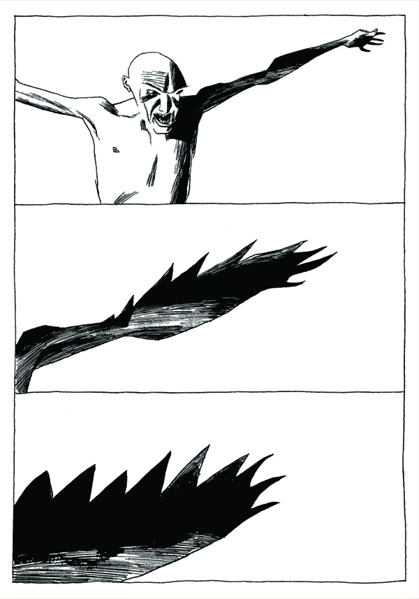 Comix dave mckean for Wing eyecare