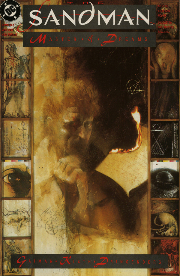 Covers Dave Mckean